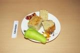 Готовое блюдо: пирог с индейкой