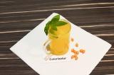 Готовое блюдо: облепиховый напиток с имбирем