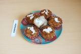 Готовое блюдо: кокосовые кексы с чиа