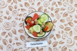 Салат с запеченными баклажанами