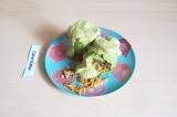 Готовое блюдо: кабачок с амарантом