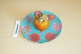 Готовое блюдо: помидор с амарантом