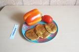 Готовое блюдо: чечевичные оладьи