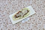 Готовое блюдо: кабачок с чечевицей
