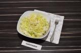 Готовое блюдо: нежный салат с ананасом