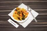 Готовое блюдо: булгур с баклажанами