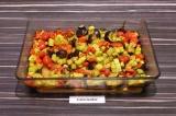 Шаг 6. Запечь все овощи при 180 С в течение 15 минут.
