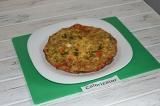 Готовое блюдо: овощной омлет в духовке
