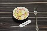 Салат из редиса и авокадо