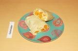Готовое блюдо: рулет с тыквой и тофу