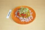 Готовое блюдо: рагу с чечевицей и рисом