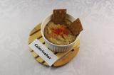 Готовое блюдо: паштет из баклажана и фасоли