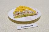 Готовое блюдо: салат мимоза вегетарианский