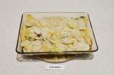 Шаг 8. Закрыть форму фольгой и запекать в духовке 25 минут при 180 С.
