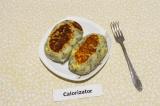Готовое блюдо: картофельные зразы с плавленым сыром