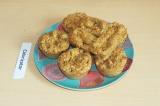 Готовое блюдо: кексы с ананасом