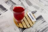 Готовое блюдо: напиток клюквенно-имбирный