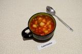 Готовое блюдо: кукурузный суп