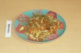 Готовое блюдо: полезный овощной салат