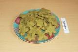 Готовое блюдо: печенье с авокадо