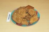 Готовое блюдо: печенье из тыквы