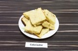 Готовое блюдо: бисквитное печенье с изюмом