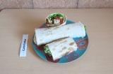 Готовое блюдо: шаверма с тофу