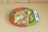 Шаг 6. Тофу отправить в духовку на 15 минут при 160 градусах
