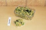 Готовое блюдо: tuna salad по-вегетариански