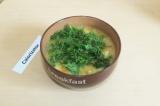 Готовое блюдо: копченый гороховый суп