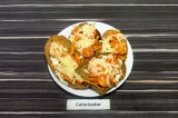 Готовое блюдо: бутерброды с морковкой по-корейски