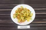 Готовое блюдо: овощное рагу с нутом