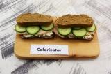 Готовое блюдо: сэндвич с бужениной