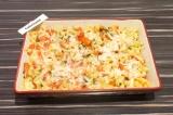Шаг 7. Запекать еще 3-5 минут, чтобы сыр расплавился. Подавать в горячем виде.
