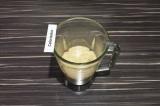 Шаг 4. Добавить оставшуюся часть молока с цикорием и взбить еще минуту.