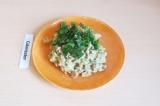 Готовое блюдо: сливочный рис с грибами
