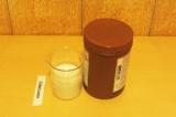 Шаг 1. Взбить молоко с какао.