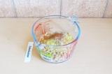 Шаг 2. Взбить фасоль со всеми ингредиентами, кроме брокколи.