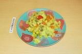 Готовое блюдо: овощной плов