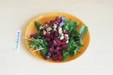 Готовое блюдо: салат из свеклы