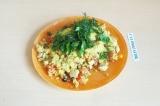 Готовое блюдо: тофуомлет