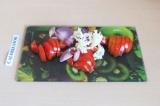 Шаг 4. Овощи потушить под крышкой в течение 5 минут.