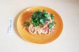 Готовое блюдо: веганские макароны по-флотски