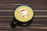 Крем-суп из шампиньонов с кабачком
