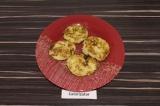Готовое блюдо: котлеты из риса и кабачка