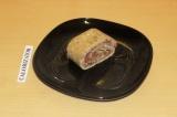 Готовое блюдо: овсяно-клубничный рулет