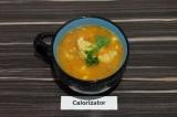 Готовое блюдо: гороховый суп с цветной капустой