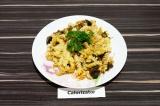 Готовое блюдо: макароны запеченные с баклажаном